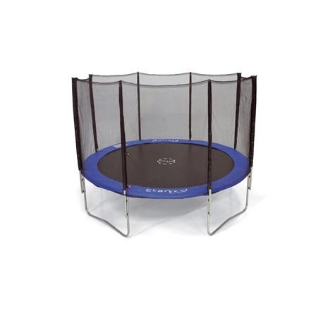 Trampoline rond avec filet de protection Ø 3,70 m