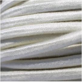 Bobine élastique BLANC D.10mm Haute performance